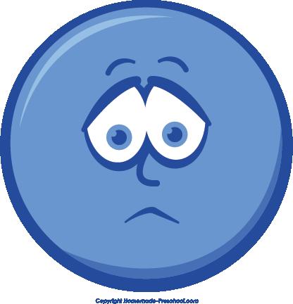 416x432 Blur Clipart Sad Face