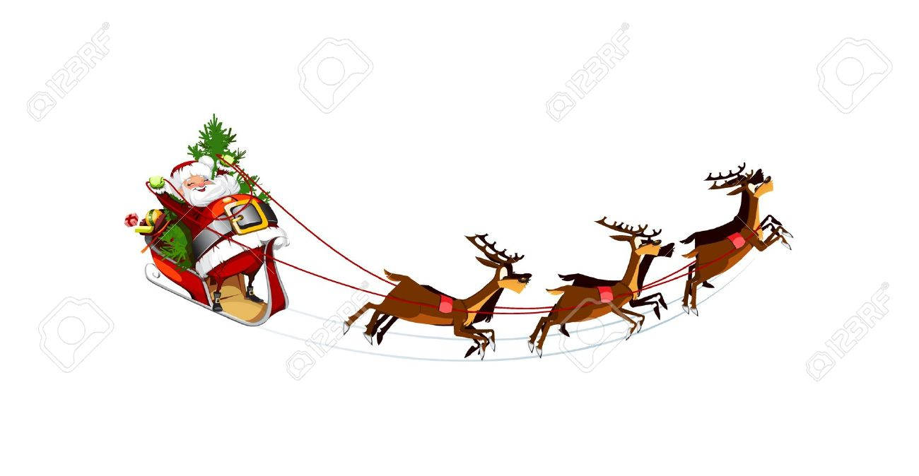1300x674 Flying Santa Clipart, Explore Pictures