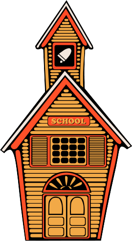 270x491 Free School House Clipart, 1 Page Of Public Domain Clip Art