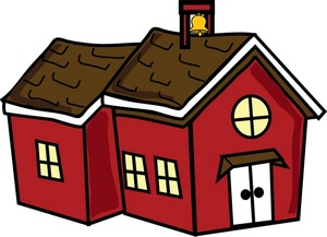 300x217 School House Clipart Cliparts