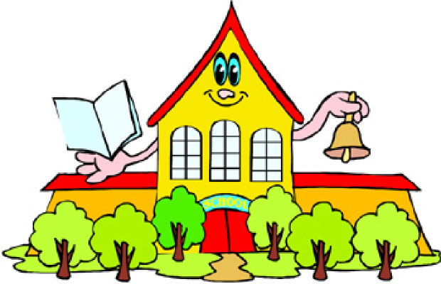 620x400 Clipart Of School House Clipartfest
