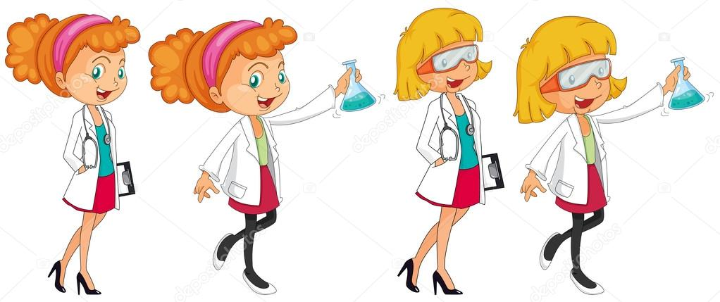 1022x429 Young Scientist Stock Vectors, Royalty Free Young Scientist