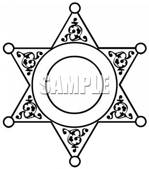 307x350 Drawn Star Sheriff