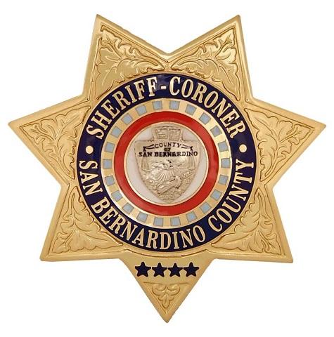 475x480 San Bernardino County Sheriff Coroner Calif Le Badges