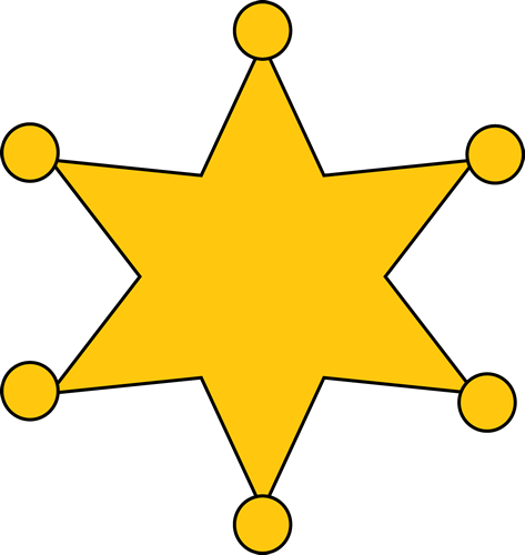 473x500 Sheriff Badge Clip Art