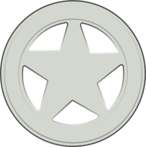 297x300 Sheriff Badge Clip Art