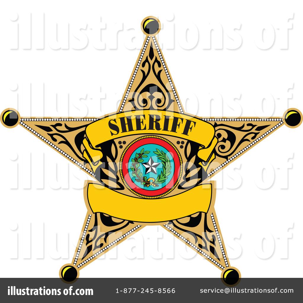 1024x1024 Sheriff Badge Clipart