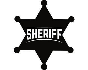 340x270 Sheriff Badge Svg Etsy