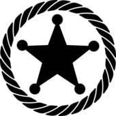 170x170 Star Sheriff Badge Clip Art