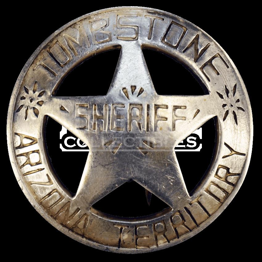850x850 Tombstone Sheriff Badge