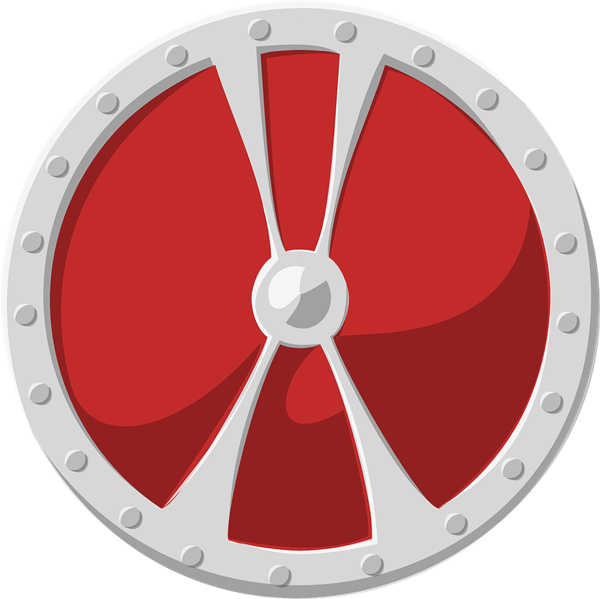 600x599 Image Of Shield Clipart