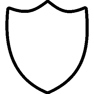 300x300 Shape Of A Shield Clipart