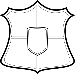 299x294 Clipart Of Shield