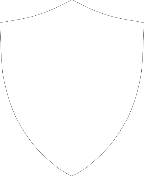 486x594 Shield Outline Clip Art