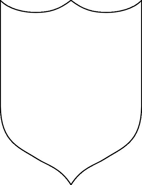 456x592 Blank Shields Clip Art (48+)