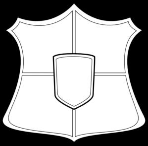 299x294 shields clipart