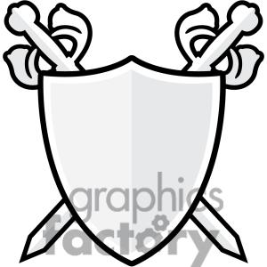 300x300 Clipart shields