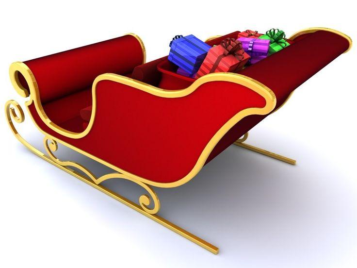 736x552 Santa Claus Sleigh Santa Claus Sleigh Free 3d Model