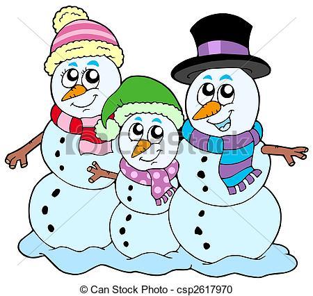 450x426 Family Snowman Clipart, Explore Pictures