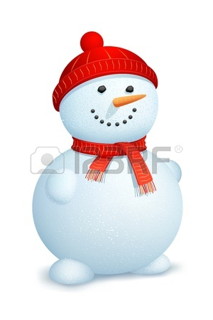 300x450 Illustration Of Snowman With Santa Claus And Gift Box In Christmas