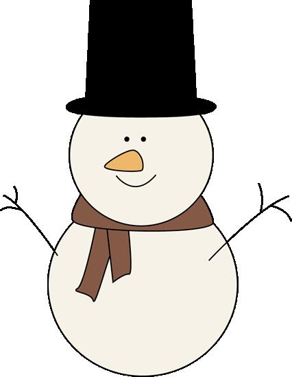 426x550 Snowman Family Clipart