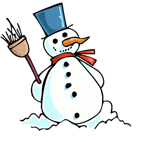 490x470 Animated Snowmen Clipart