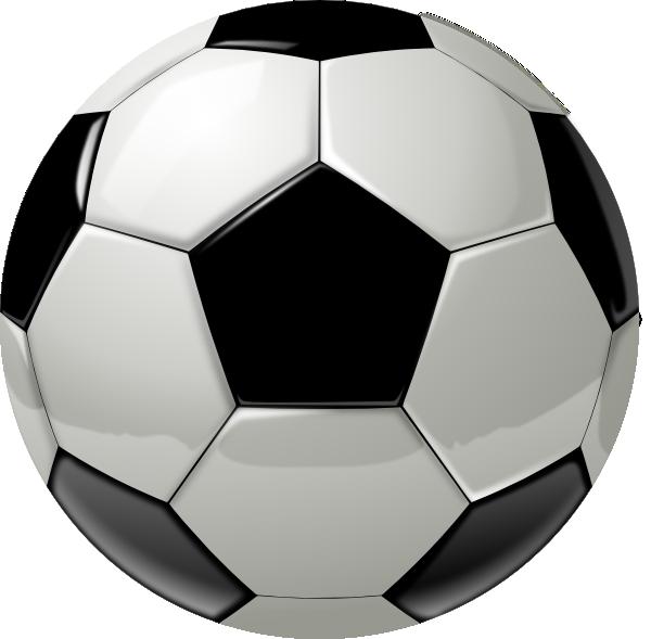 600x589 Soccer Ball Clip Art