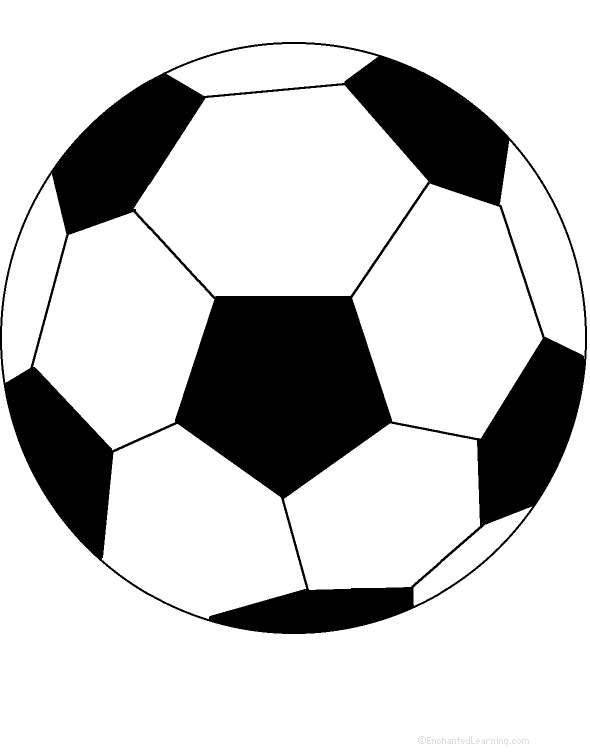 590x752 Soccer Ball Coloring Page Coloring For Kids Soccer Ball Coloring
