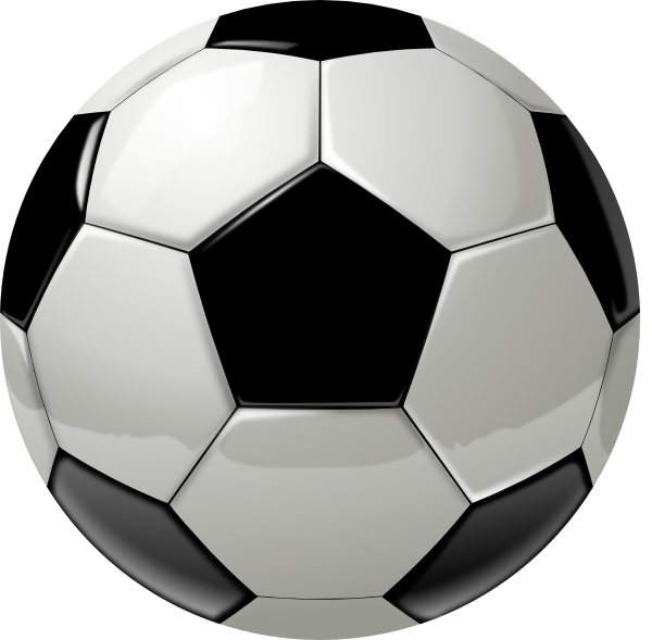 600x589 Image Of Soccer Ball Clipart