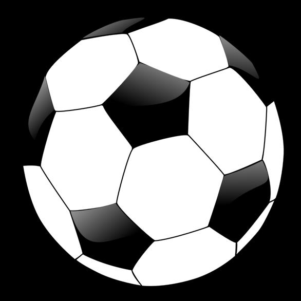 586x586 Soccer Ball Clip Art
