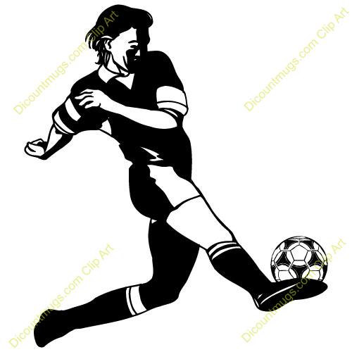500x500 Soccer Clipart Soccer Kick