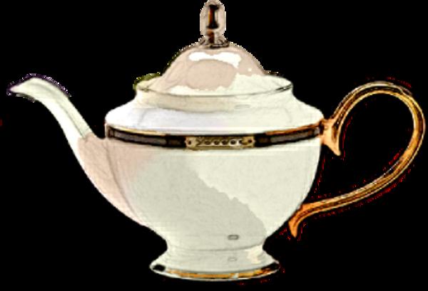 600x409 Free Vintage Clip Art 2 Ornate Teapots The Graphics Fairy 3
