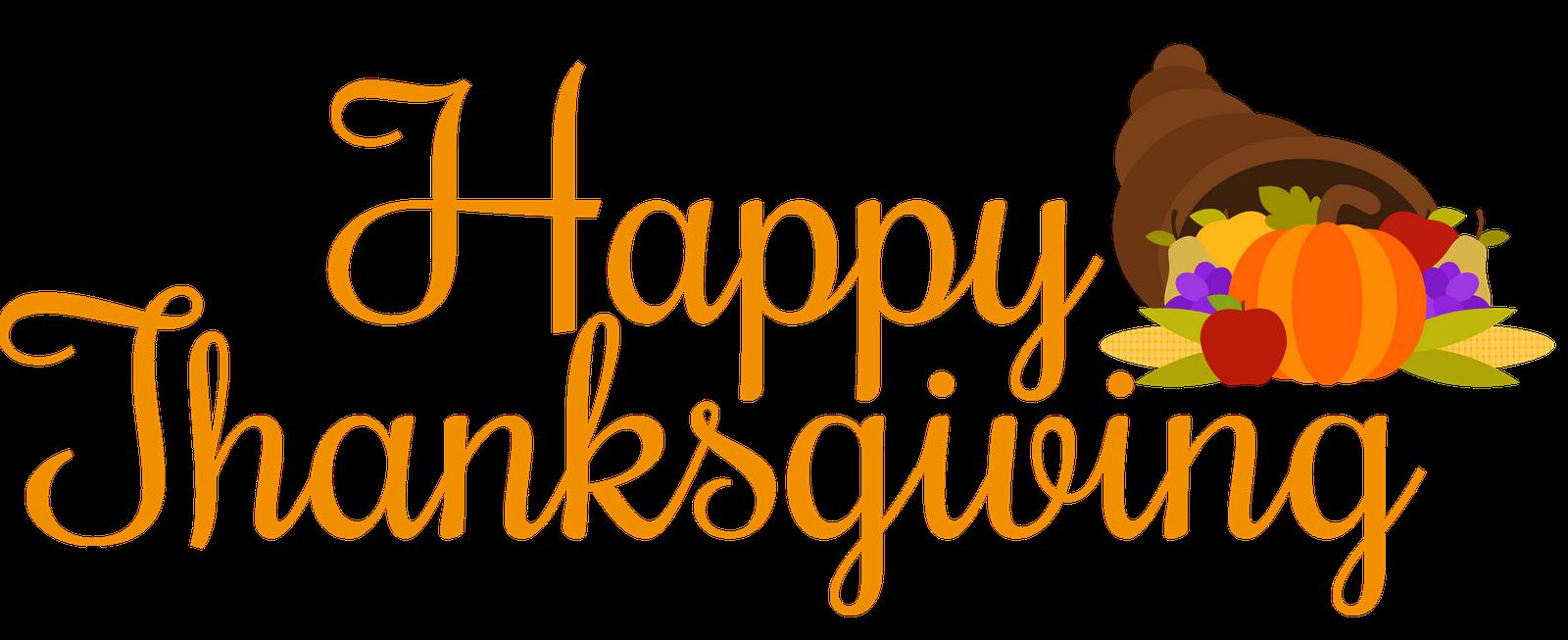 1600x653 Happy Thanksgiving Turkey Clipart