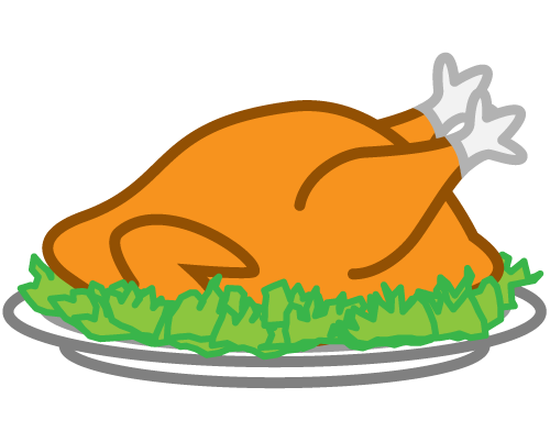 500x392 Legs Clipart Thanksgiving Turkey