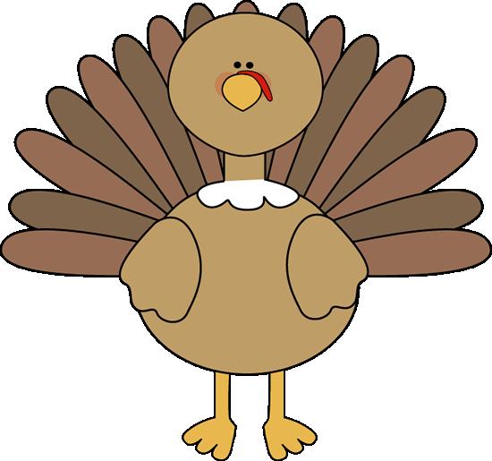 550x515 Thanksgiving Clipart Cute Turkey