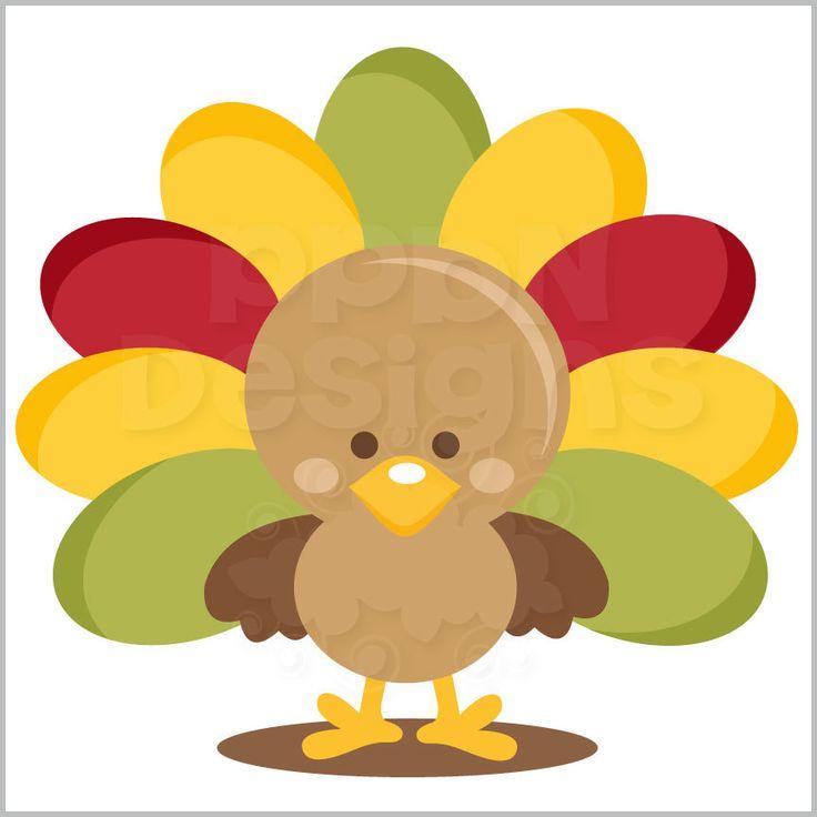 736x736 Turkey Clipart Cute