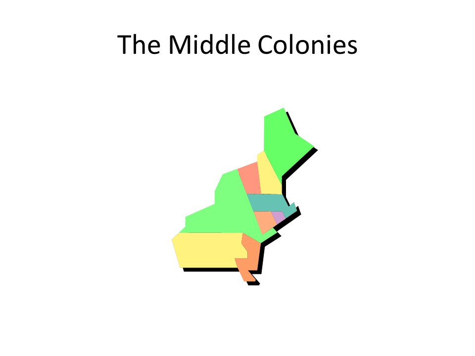 960x720 The Middle Colonies. Geography New York, New Jersey, Delaware
