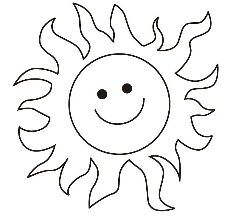 792x727 Amusing Sun Coloring Pages 15 On Free Coloring Kids With Sun