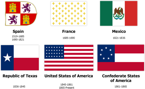 500x306 Flags Of Texas The Handbook Of Texas Online Texas State