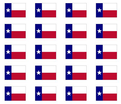 470x402 Lone Star Texas Flag Fabric