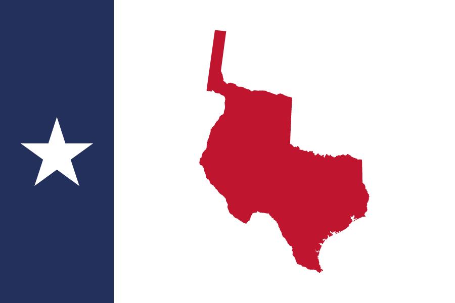900x600 Republic Of Texas Flag By Sevgart