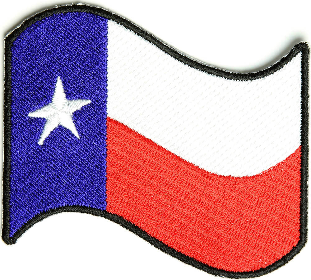 1000x899 Waving Texas Flag Patch Texas Pride Patches Thecheapplace