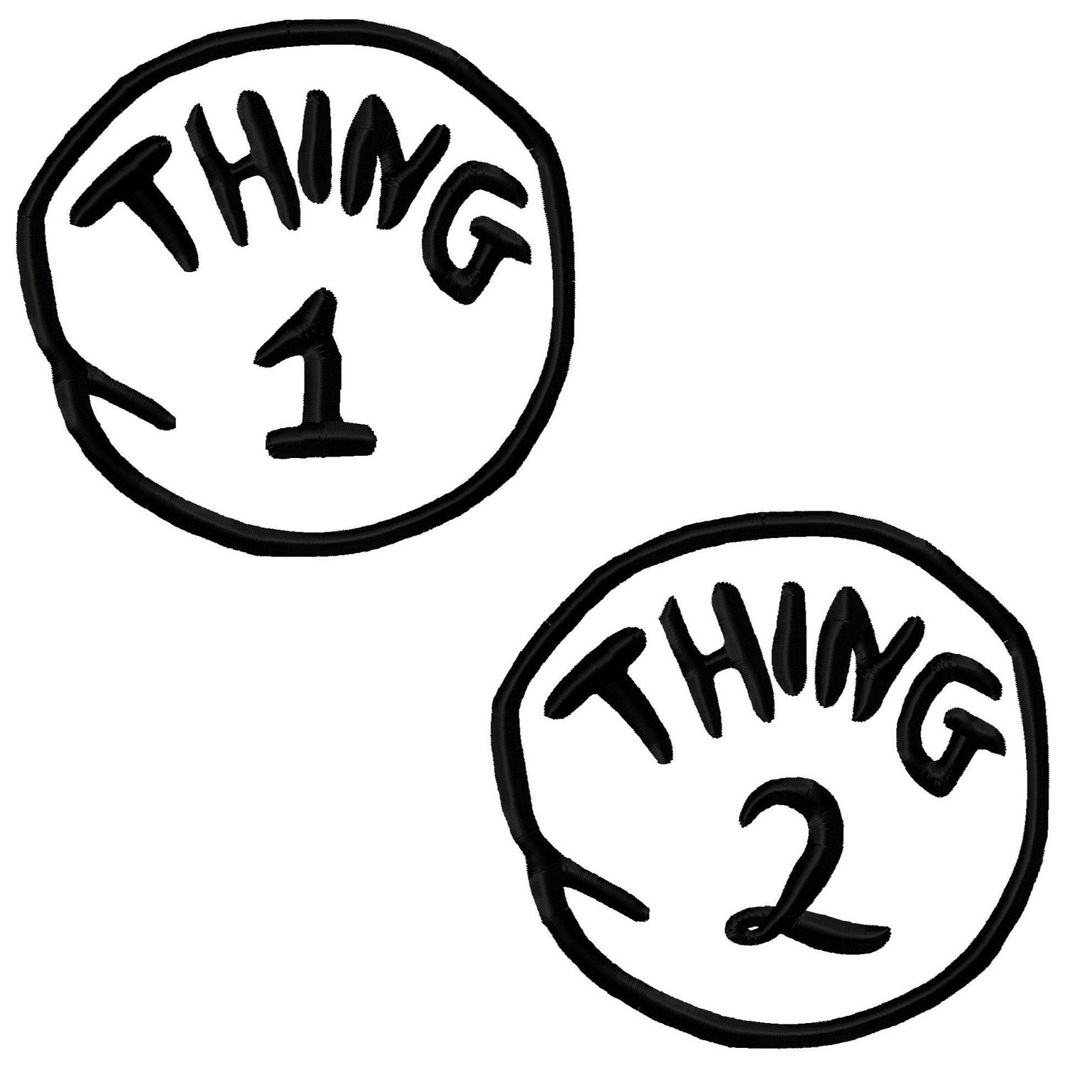 picture about Thing 1 and Thing 2 Printable Cutouts known as Visuals Of Detail 1 And Matter 2 Free of charge obtain least difficult