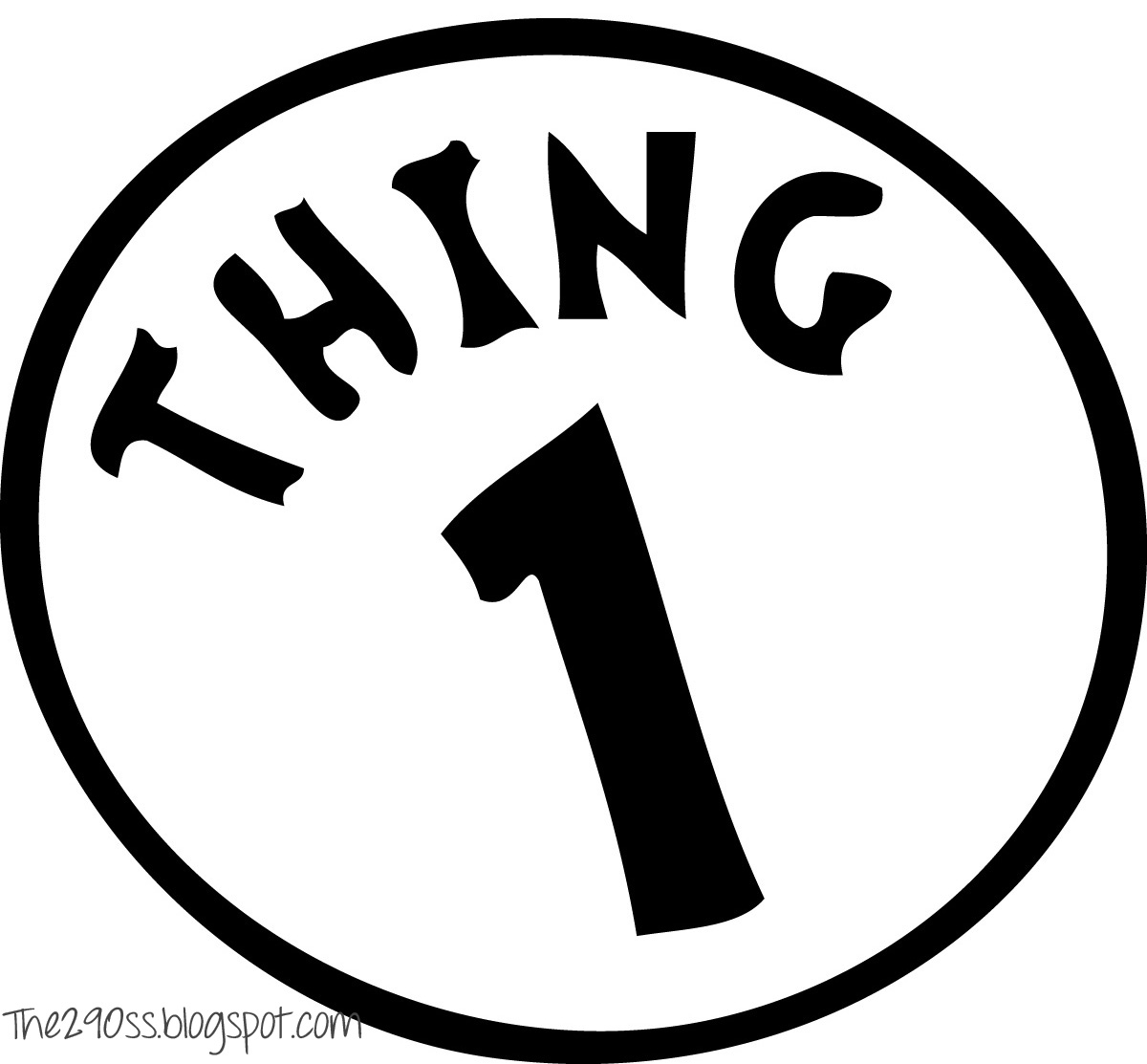 image relating to Thing 1 and Thing 2 Printable Template identified as Shots Of Issue 1 And Issue 2 No cost obtain suitable