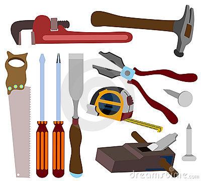 400x360 Carpenter Tools S Clipart