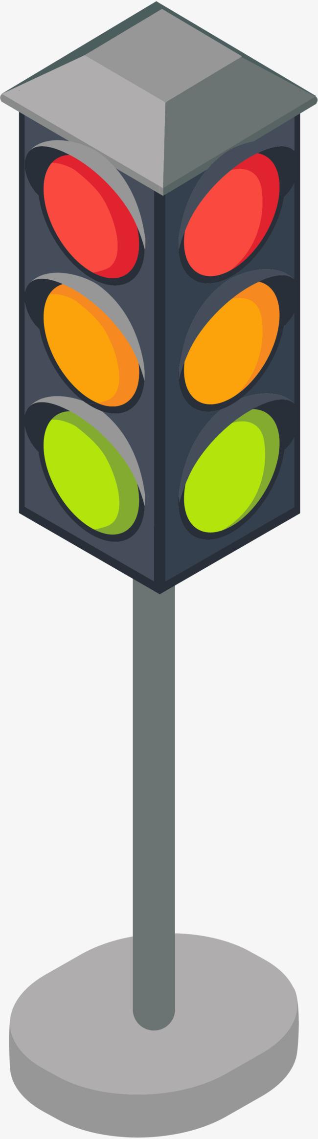 650x2329 Cartoon Traffic Light, Vector Pattern, Traffic, Traffic Lights Png