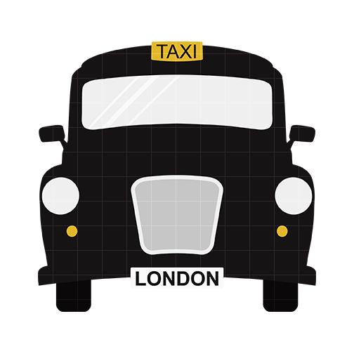 504x504 London Taxi Clip Art Home Vehicles Amp Transportation London