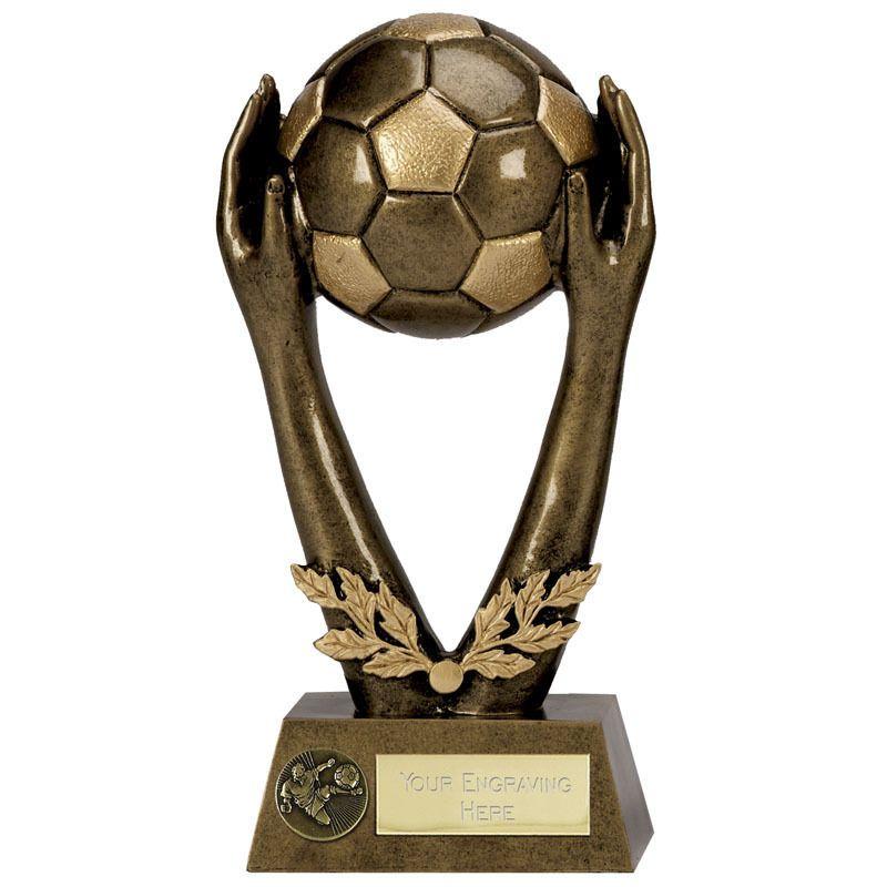 800x800 Job Lot X 16 Football Trophies Size 15.25 Cm Free Engraving