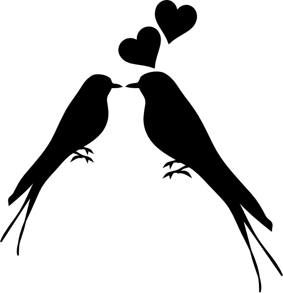 576x595 Kissing Doves Dove Clipart, Explore Pictures