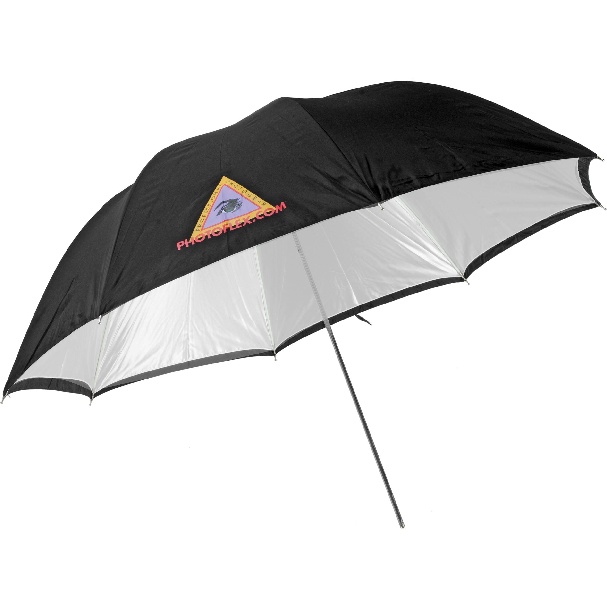 2500x2500 Photoflex 45 Convertible Umbrella (White) 871090 Bamph Photo
